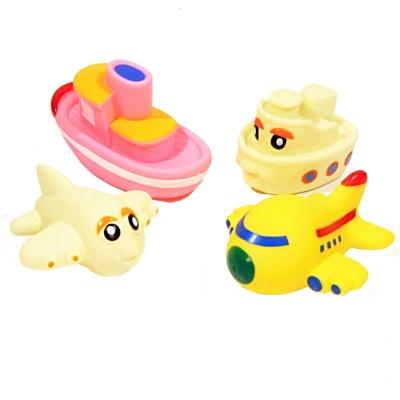 Hračky do vody pískací - dopravní prostředky