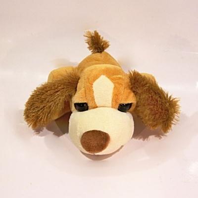 Plyšový pes hnědý - se zvukem