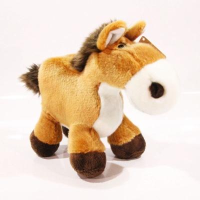 Plyšový kůň - hnědý