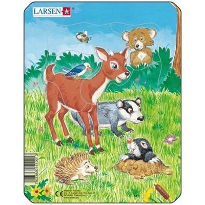 Puzzle Larsen - Lesní zvířátka