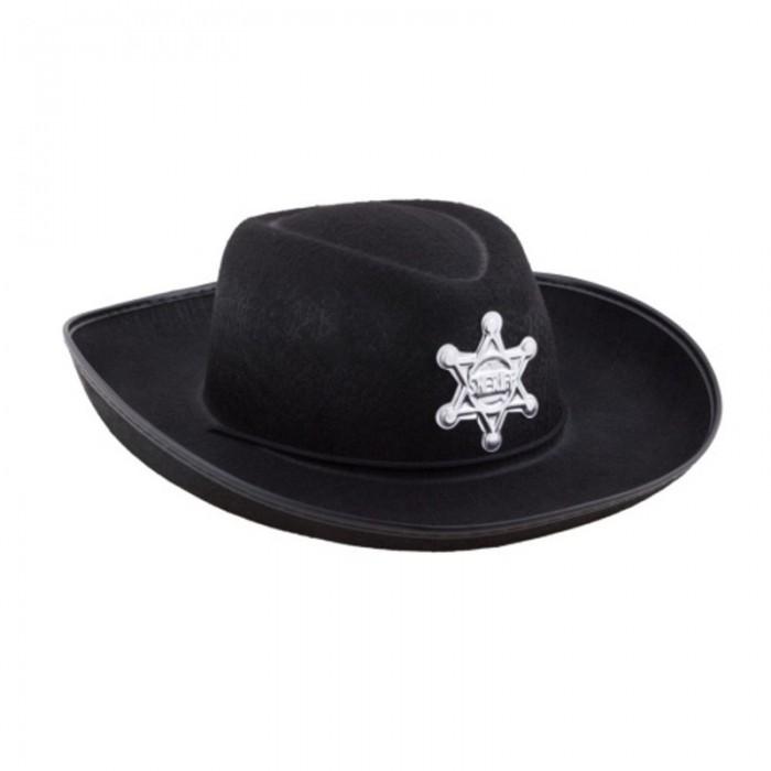 Kovbojský klobouk dětský černý