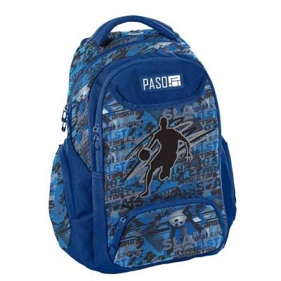 Studentský školní batoh batoh brašna BasketBall