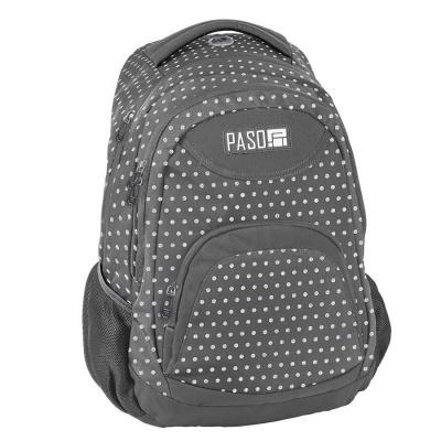 Studentský školní batoh brašna White Dots