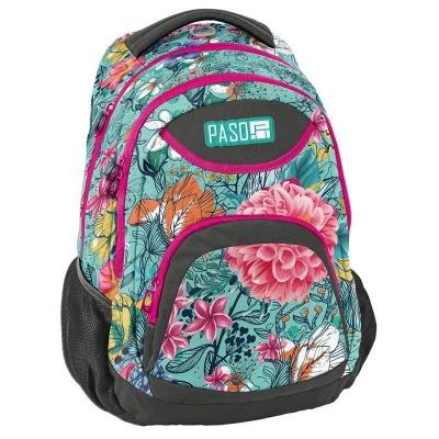 Studentský školní batoh brašna Flower