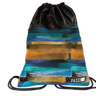 Školní pytel vak sáček s přední kapsou Desert