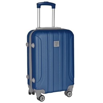 Cestovní kufr ABS modrý - menší