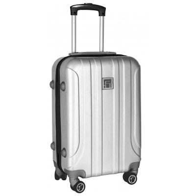 Cestovní kufr ABS stříbrný velký