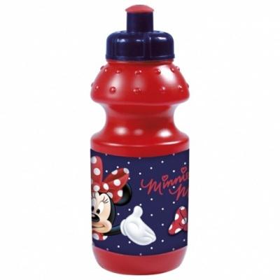 Lahev na pití Minnie červená 300ml