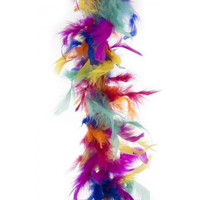 Boa duhové barevné 2m