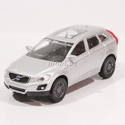 Volvo XC60 stříbrný model auta Mondo Motors 1:43