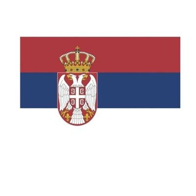 Vlajka Srbsko 150 x 90 cm