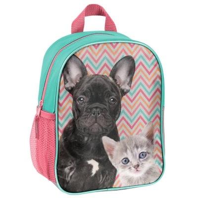 Dětský batoh malý Pes a kočka
