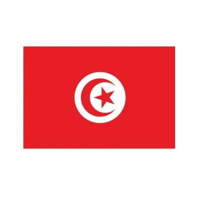Vlajka Tunisko 150 x 90 cm