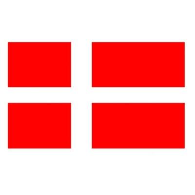 Vlajka Dánsko 150 x 90 cm