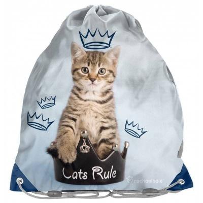 Pytel na tělocvik - přezůvky Kočka
