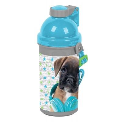 Plastová láhev 500ml Pes boxer