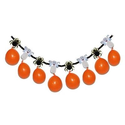 Girlanda dekorace Halloween s balónky