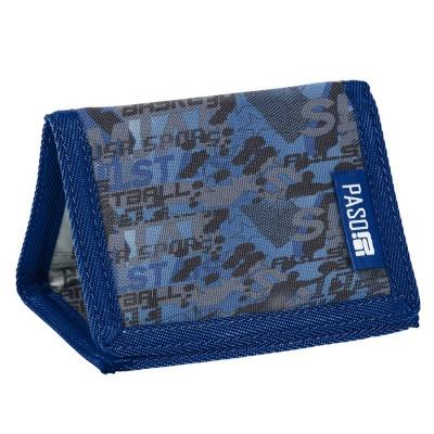 Textilní peněženka - basketball
