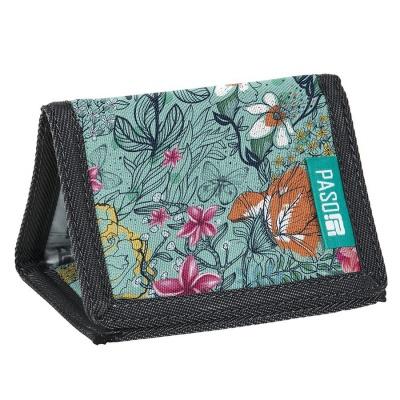 Textilní peněženka - Flowers