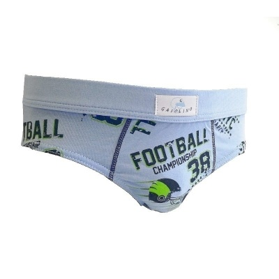 Chlapecké slipy Gasolino fotbal 2343 modré