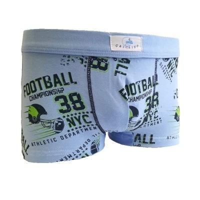 Chlapecké boxerky Gasolino fotbal 2342 modré