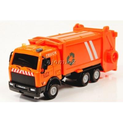 Model nákladního auta Mondo Motors popelář - 1:64