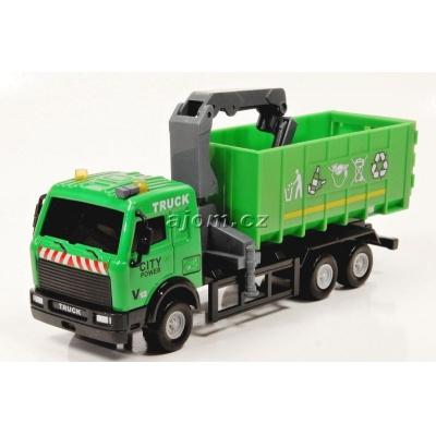 Model nákladního auta Mondo Motors kontejner na odpad - 1:64