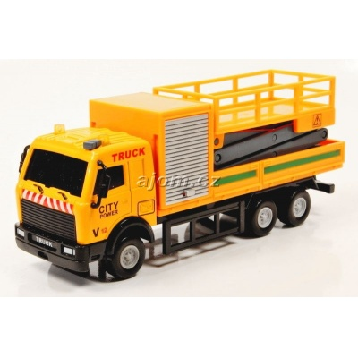 Model nákladního auta Mondo Motors plošina - 1:64