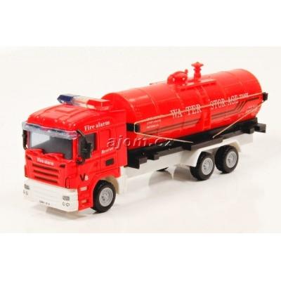 Model nákladního auta Mondo Motors hasiči cisterna - 1:64