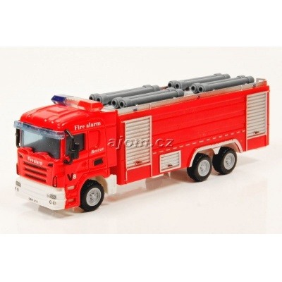 Model nákladního auta Mondo Motors hasiči - 1:64