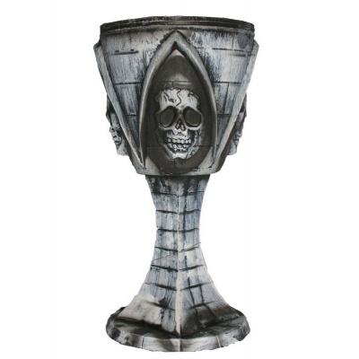 Pohár gotik - lebka