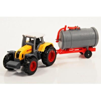 Model Traktor s vlečkou 03 - 1:27