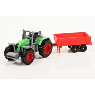 Model Traktor s vlečkou 04 - 1:72