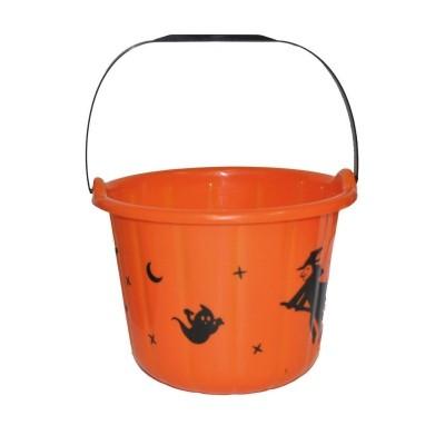 Halloween kýblík oranžový