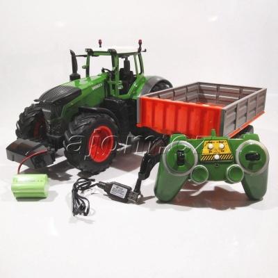 Traktor s vlečkou na dálkové ovládání 2,4 GHz