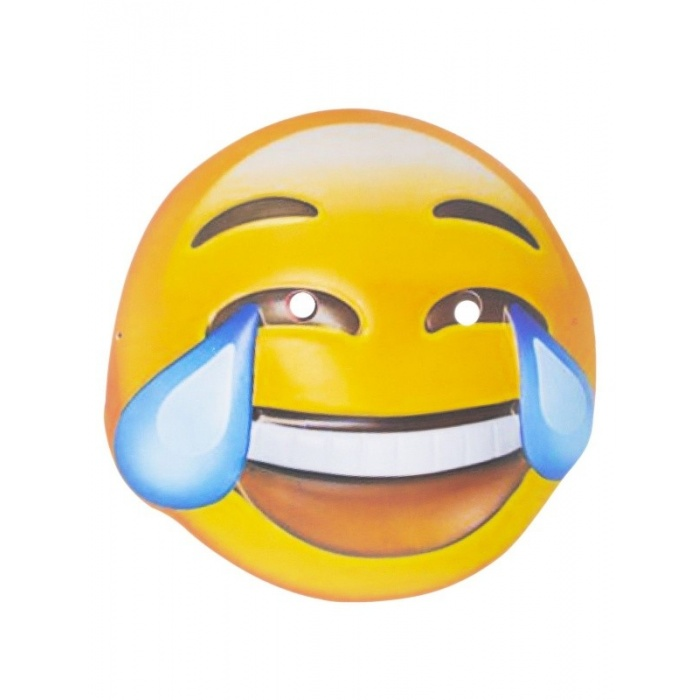 Maska emoji smajlík