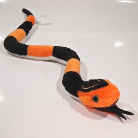 Plyšový Had pruhovaný