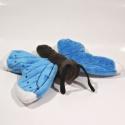 Plyšový Motýl modrý
