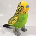 Plyšová Andulka - žlutá