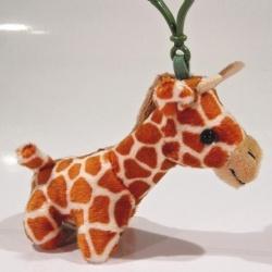 Plyšový přívěšek - klíčenka Žirafa