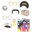 Doplňky do fotokoutku Disco včetně pozadí