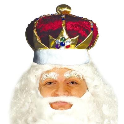 Královská koruna látková