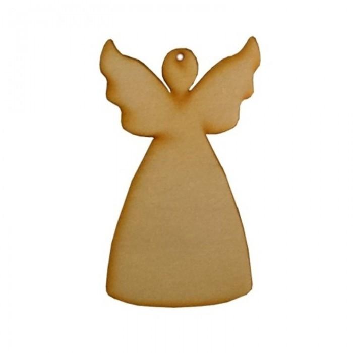 Vánoční ozdoba na zavěšení - anděl 8,5cm