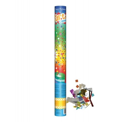 Párty kanón velký - konfetovač barevný 60cm