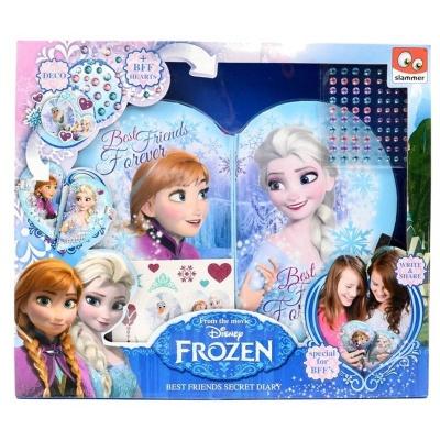 Velká sada - deníčky na zámek srdce Frozen