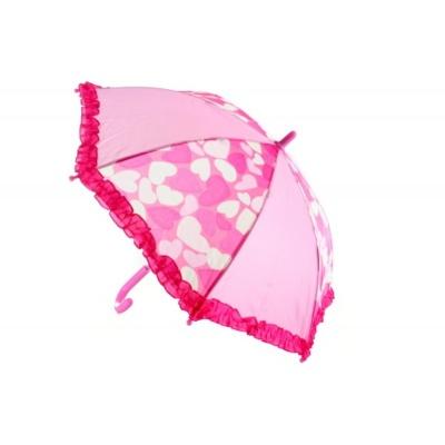 Deštník Růžový se srdíčky