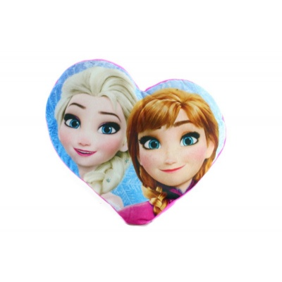 Dětský polštářek Srdce Frozen Ledové království