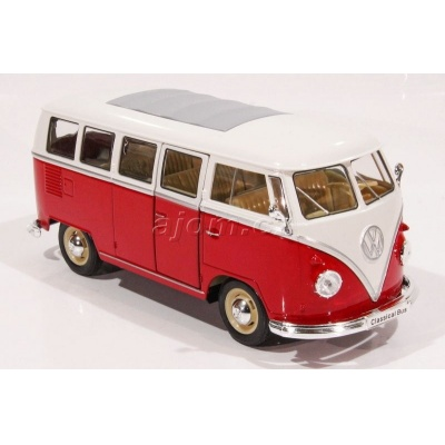 VW Volkswagen T1 Bus 1963 - 1:24 red