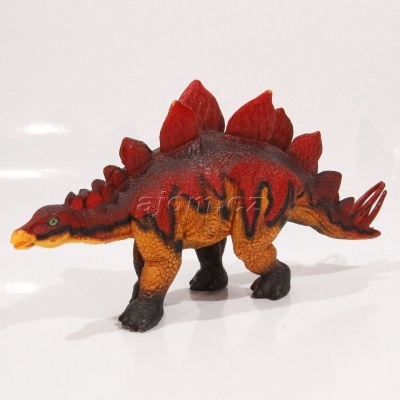 Dinosaurus větší barevný - Stegosaurus