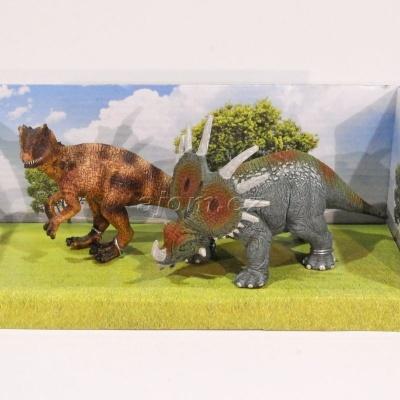 Figurky Dinosaurus 2 kusy v krabičce - Styracosaurus